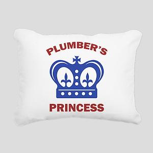 Plumber's Princess Rectangular Canvas Pillow
