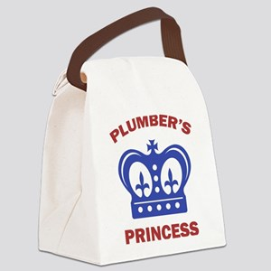 Plumber's Princess Canvas Lunch Bag