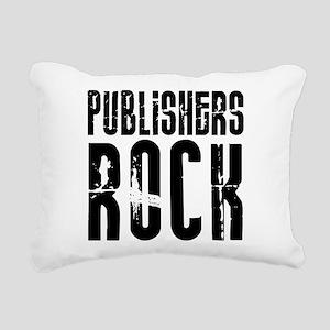 Publishers Rock Rectangular Canvas Pillow