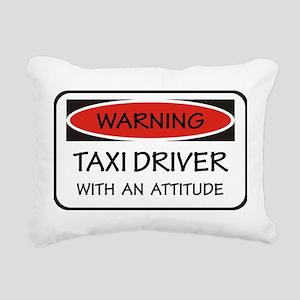 Attitude Taxi Driver Rectangular Canvas Pillow