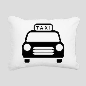 Taxi Rectangular Canvas Pillow