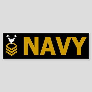 Master Chief Petty Officer<BR> Bumper Sticker 1