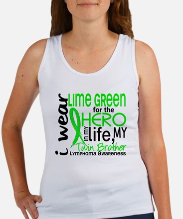 Hero in Life 2 Lymphoma Women's Tank Top