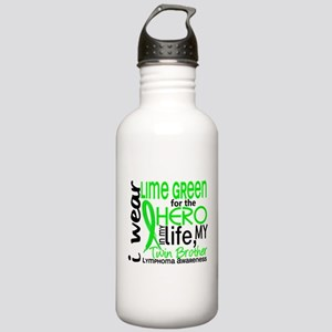 Hero in Life 2 Lymphoma Stainless Water Bottle 1.0