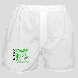 Hero in Life 2 Lymphoma Boxer Shorts