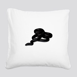 FIN-king-snake2 Square Canvas Pillow