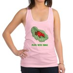 plays-with-frogs.ti... Racerback Tank Top
