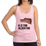 a-is-for-alligator Racerback Tank Top
