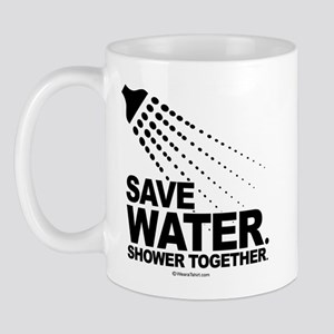 Save water. Shower together. -  Mug