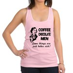 FIN-coffee-chocolate-men Racerback Tank Top