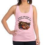 FIN-fair-trade-justice Racerback Tank Top