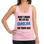 Carolina Football Racerback Tank Top