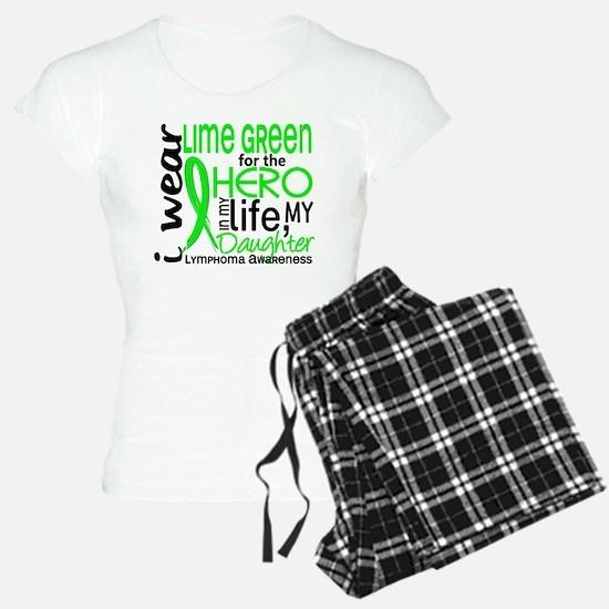 Hero in Life 2 Lymphoma Pajamas