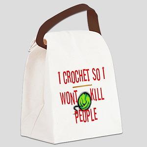 crochetkills090709 Canvas Lunch Bag