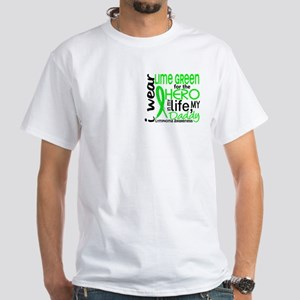 Hero in Life 2 Lymphoma White T-Shirt