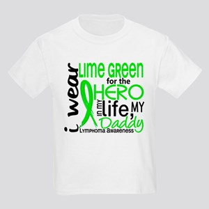 Hero in Life 2 Lymphoma Kids Light T-Shirt