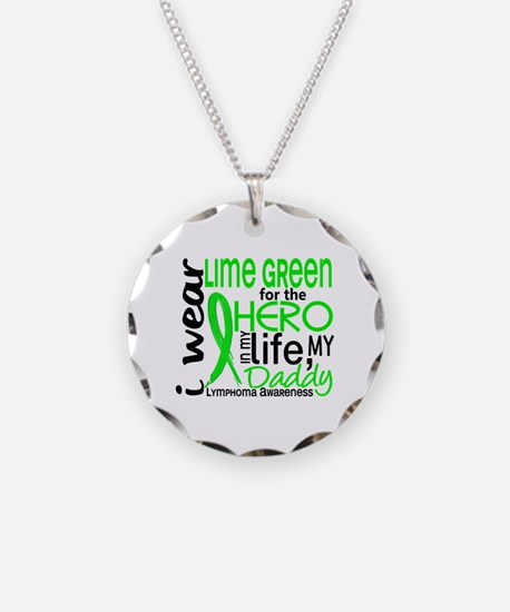 Hero in Life 2 Lymphoma Necklace