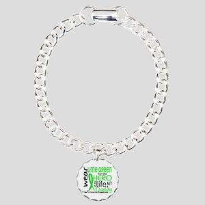 Hero in Life 2 Lymphoma Charm Bracelet, One Charm