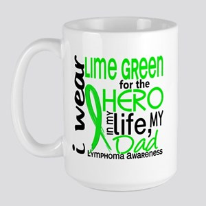 Hero in Life 2 Lymphoma Large Mug