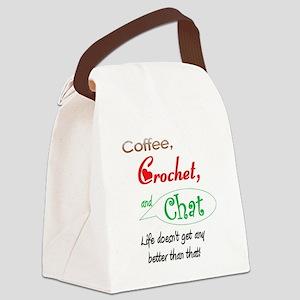 coffeecrochetchat102008 Canvas Lunch Bag