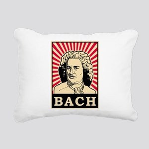 Pop Art Bach Rectangular Canvas Pillow