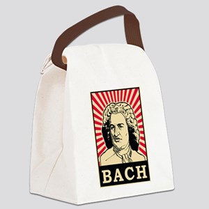 Pop Art Bach Canvas Lunch Bag