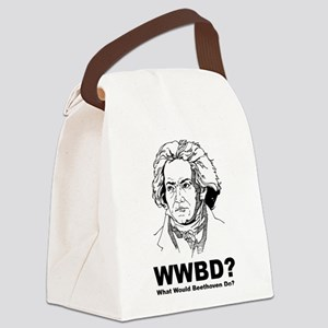 What Would Beethoven Do Canvas Lunch Bag