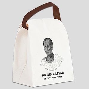 Julius Caesar Is My Homeboy Canvas Lunch Bag