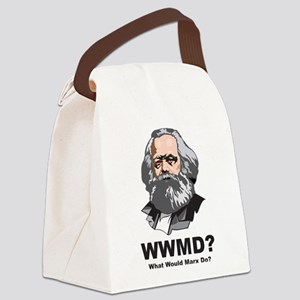 What Would Marx Do Canvas Lunch Bag