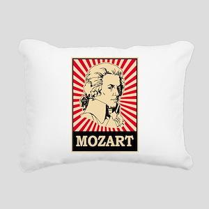 Pop Art Mozart Rectangular Canvas Pillow