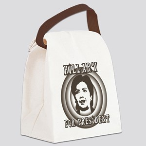 Retro Hillary Canvas Lunch Bag