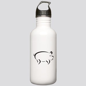 Simple Pig Stainless Water Bottle 1.0L
