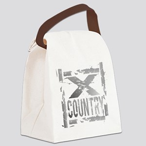 Cross Country Grunge Canvas Lunch Bag