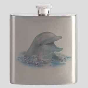 Happy Dolphin Flask
