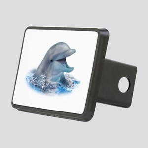 Happy Dolphin Rectangular Hitch Cover