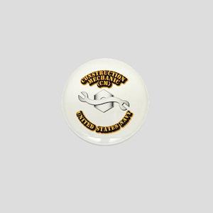 Navy - Rate - CM Mini Button