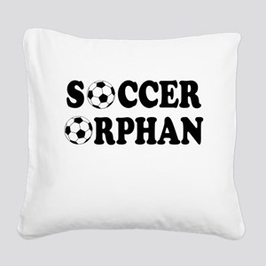 FIN-soccer orphan Square Canvas Pillow