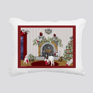GOAT-kids-Christmas Rectangular Canvas Pillow