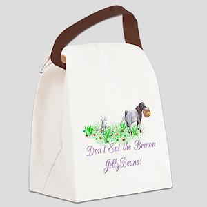 Goat-JellyBeansBoerBuckDK Canvas Lunch Bag