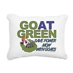 GOatGreen Rectangular Canvas Pillow