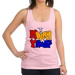 My Barn My Rules Baby Goat Racerback Tank Top