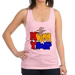 My Barn My Rules Goat Racerback Tank Top