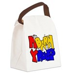 My Barn My Rules Shy Goat Canvas Lunch Bag
