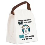 Goats Can Do Better Canvas Lunch Bag