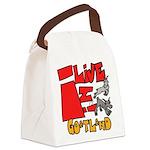 Copy of goatland Canvas Lunch Bag