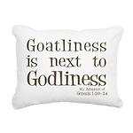 Goatliness Rectangular Canvas Pillow