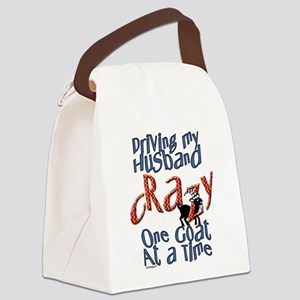 GOAT-drivehubbycrazy Canvas Lunch Bag