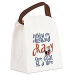 GOAT-drivehubbycrazy Canvas Lunch Bag