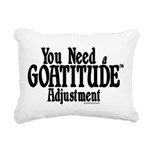 GOAT-goatitude Rectangular Canvas Pillow
