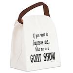 GOAT-impressme-goatshow Canvas Lunch Bag